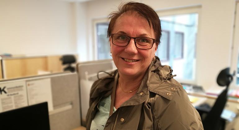 Porträtt Gitte Carlsson