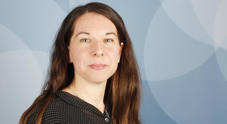Porträtt av Malin Fröjmark