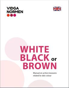 """Download handbook """"White, Black or Brown"""" as pdf."""