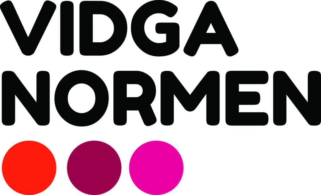 Logotyp: Vidga normen